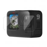 Защитные стекла на GoPro HERO9 Black (не оригинал)