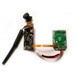 Полетный контроллер + FPV модуль + линза (Fisheye)