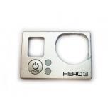 Передняя панель от камеры Gopro 3 silver