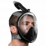 Маска для снорклинга с трубкой Mask full face